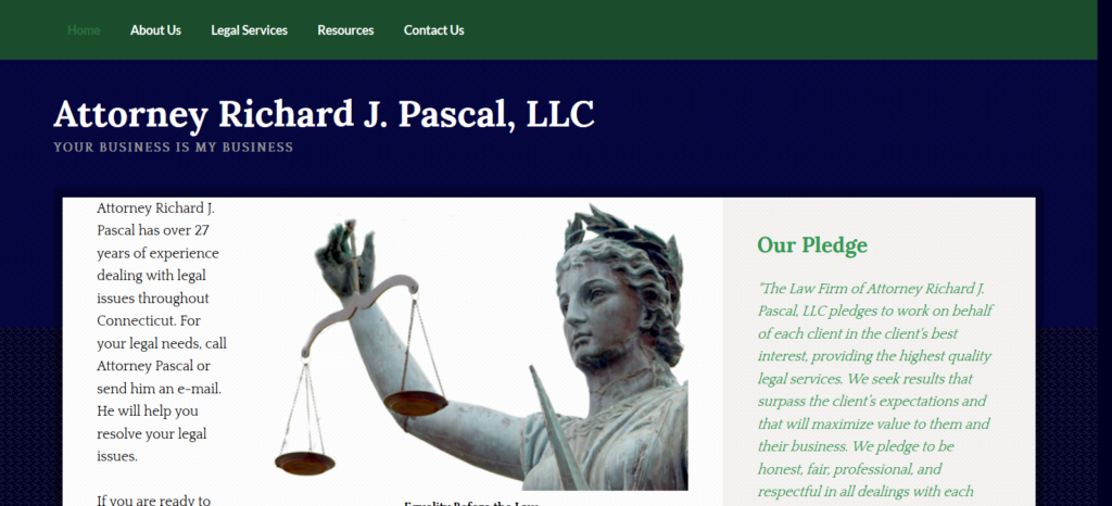 Attorney Richard J Pascal - Norwich, CT