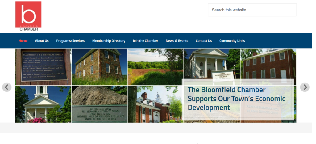 Bloomfield Chamber – Bloomfield, CT