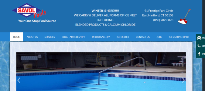 Savol swimming pool repairs, CT